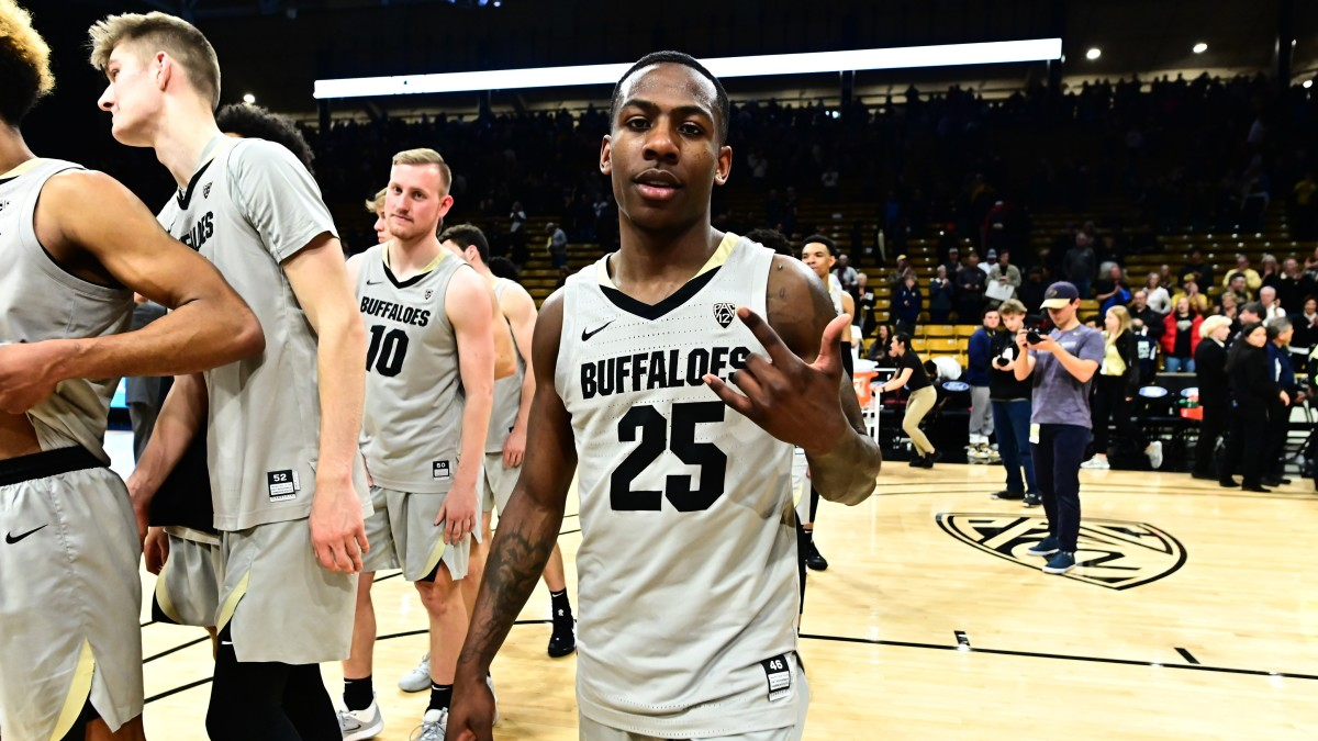 Colorado senior guard McKinley Wright IV (25) is a two-time All-Pac-12 selection.