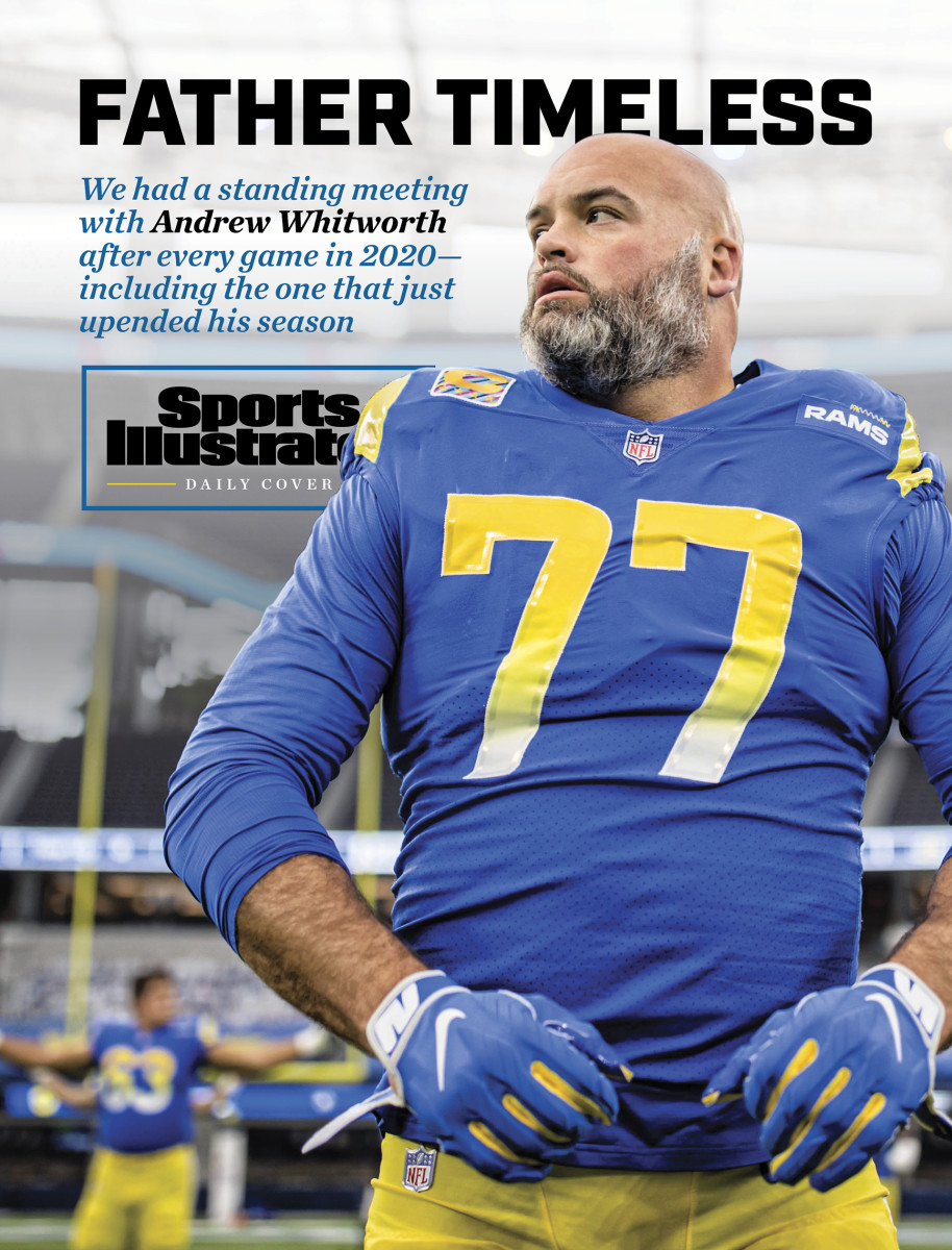 Andrew Whitworth Sports Illustrated Daily Cover