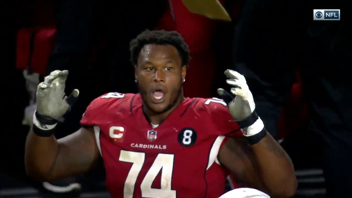 Arizona Cardinals offensive lineman D.J. Humphries
