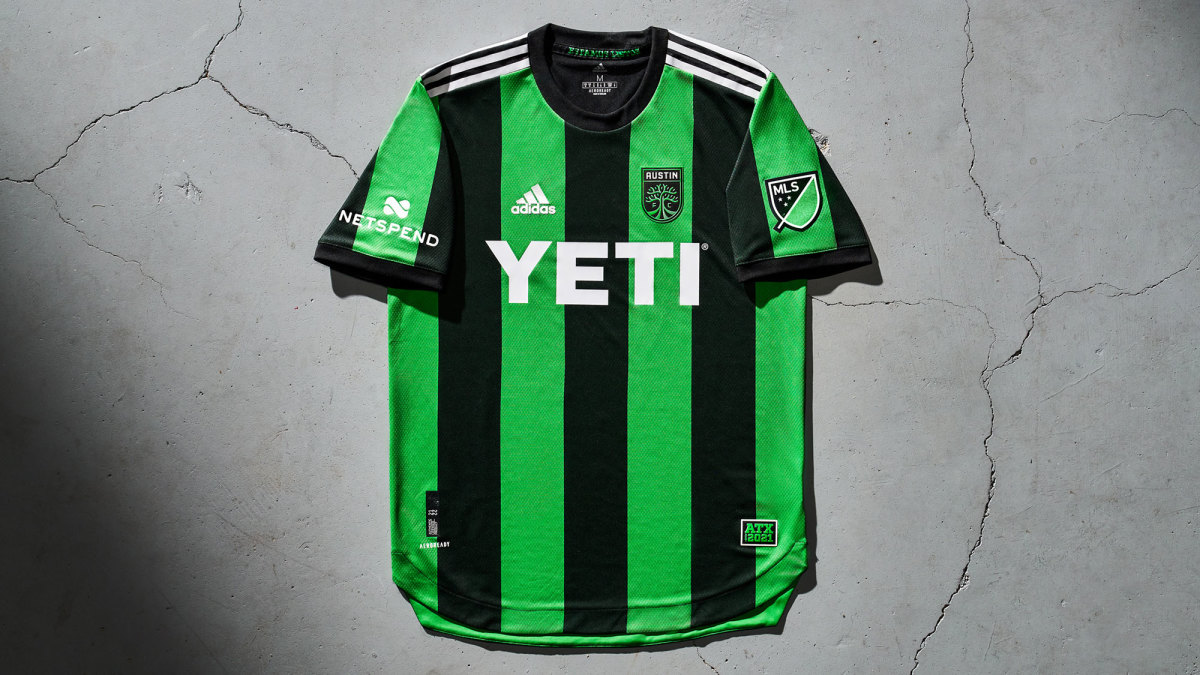 Austin FC's first MLS jersey