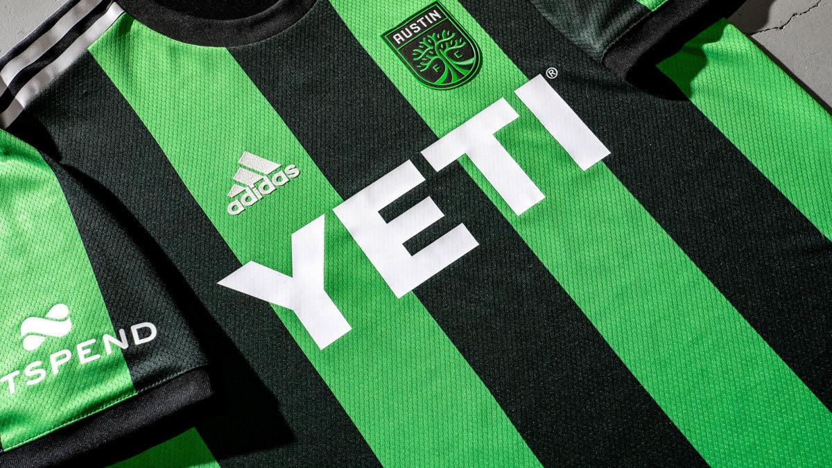 Austin FC's MLS jersey