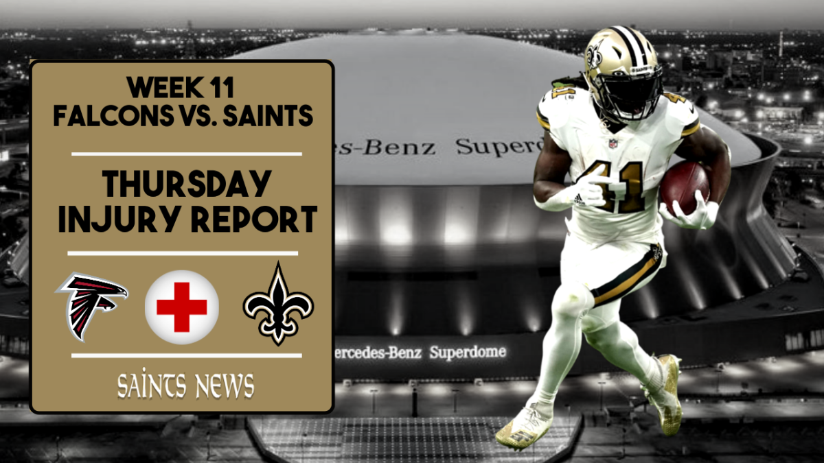 Saints Injury Report