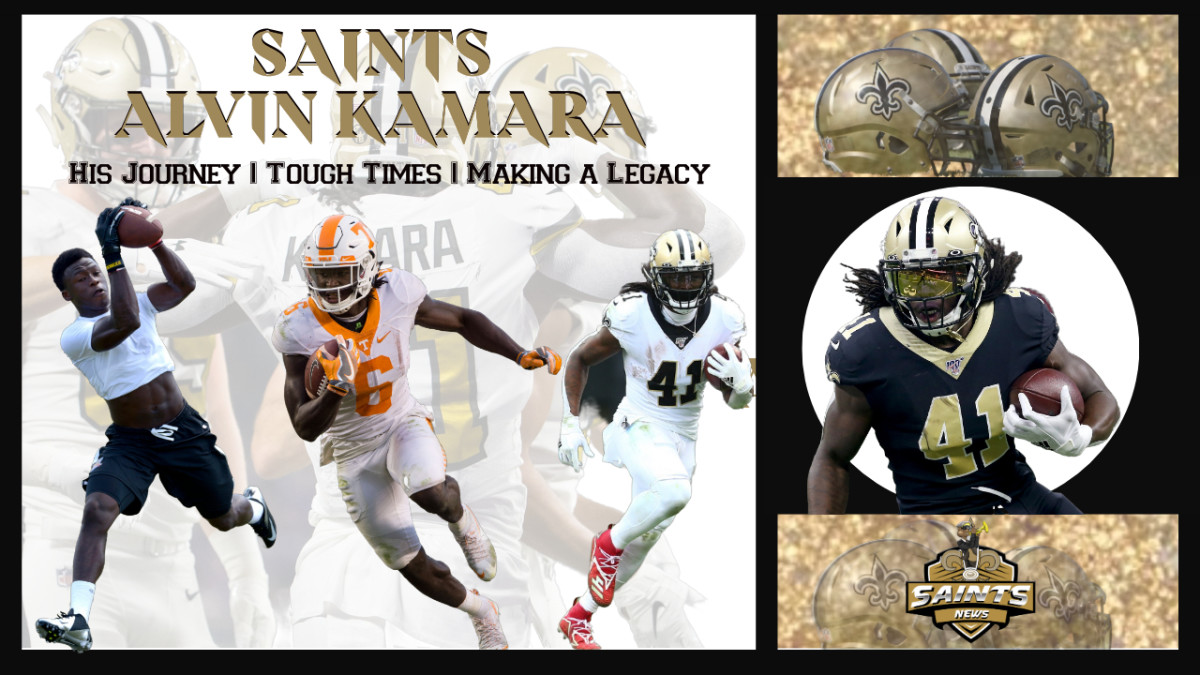 Saints Alvin Kamara From humble beginnings to NFL STARDOM (1)