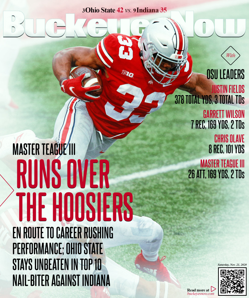 Ohio State vs. Indiana Magazine Cover