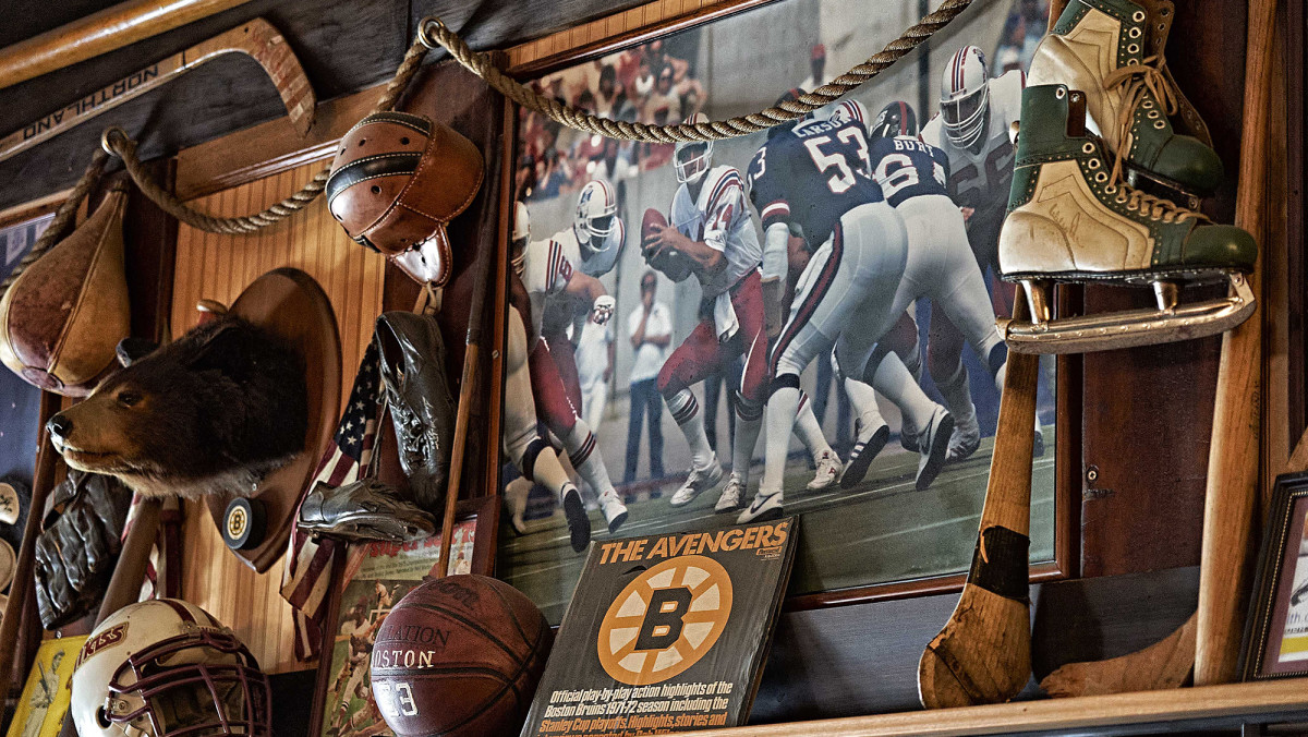 Located across the street from Boston's arena, The Fours was a home to a trove of memorabilia.