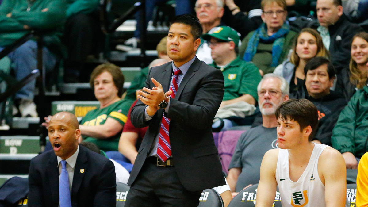 UC Riverside coach Mike Magpayo