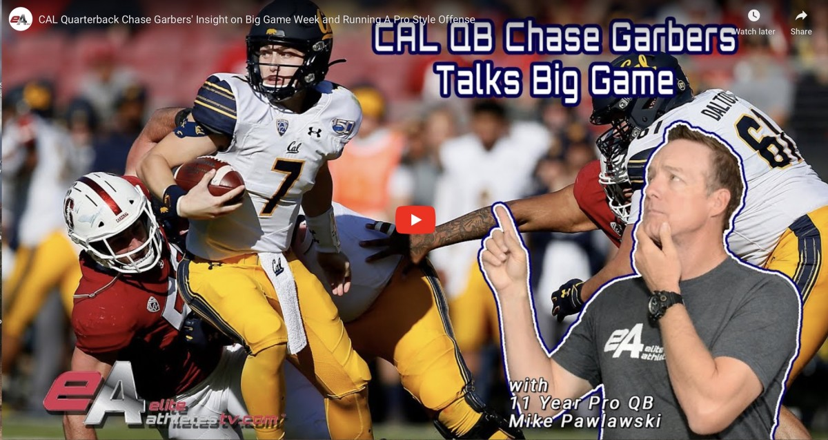 Mike Pawlawski interviews Chase Garbers