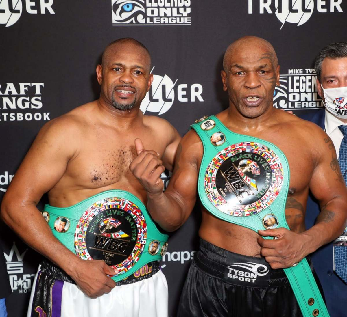 Mike Tyson vs. Roy Jones: Results, highlights, analysis - Sports Illustrated