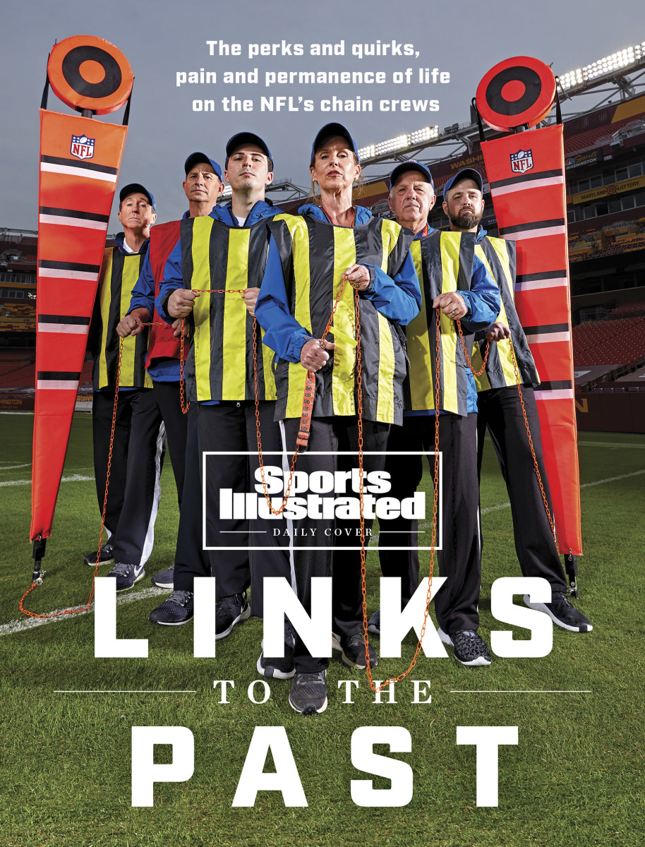 NFL chain gang crew for Washington Football Team