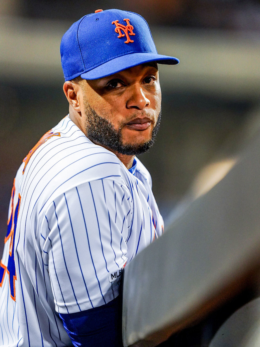Robinson Cano on the bench