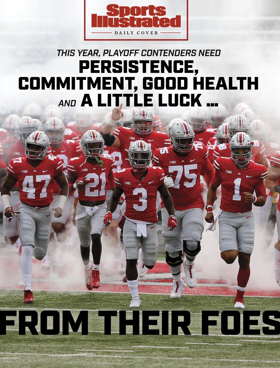 Daily Cover: Ohio State runs out of the tunnel