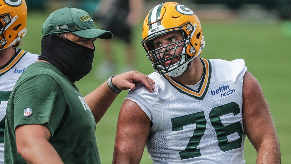 Green Bay Packers Head Coach Matt LaFleur Lauds Jon Runyan Jr.