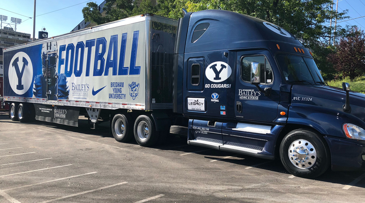 Two Men and a Truck: The Last-Minute, 2,200-Mile Journey to Get BYU on the Field at Coastal Carolina -