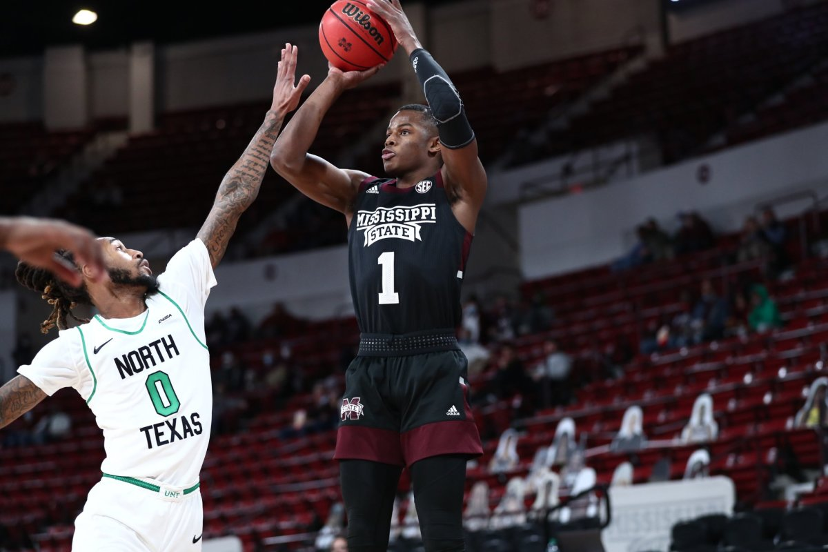 Iverson Molinar shines in return as Mississippi State grabs win over North  Texas - Sports Illustrated Mississippi State Football, Basketball,  Recruiting, and More