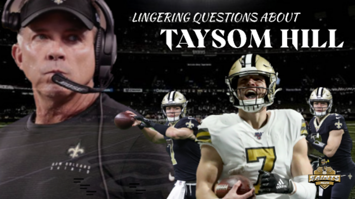 (COPY) Questions Linger about Taysom Hill