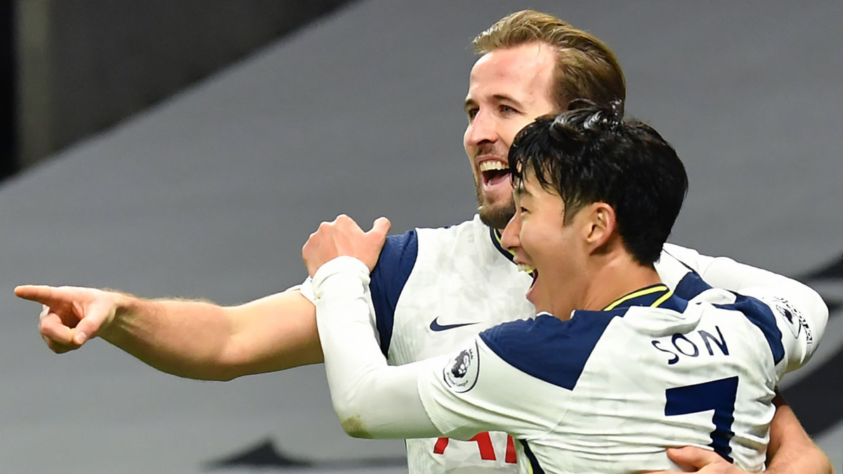 Harry Kane and Son Heung-min have carried Tottenham