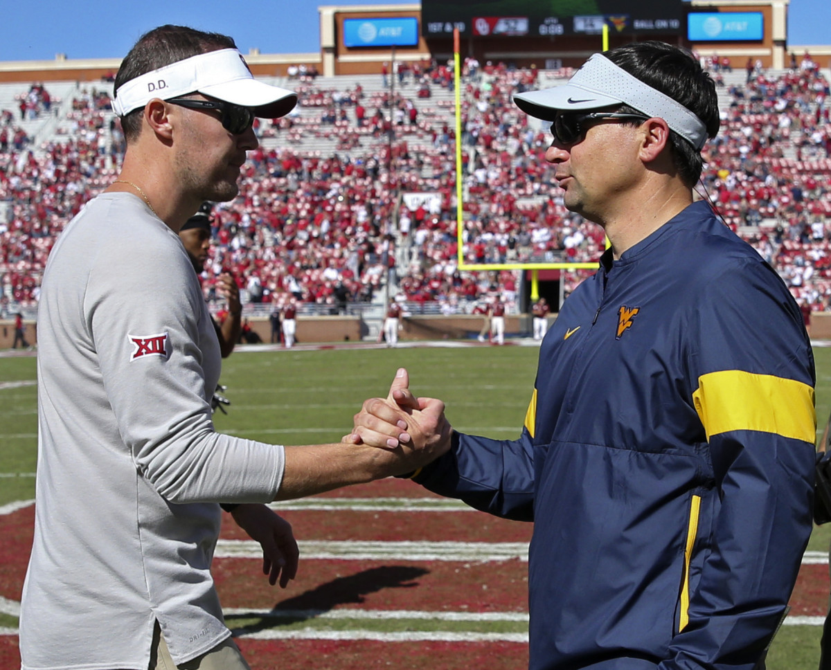 Lincoln Riley and Neal Brown