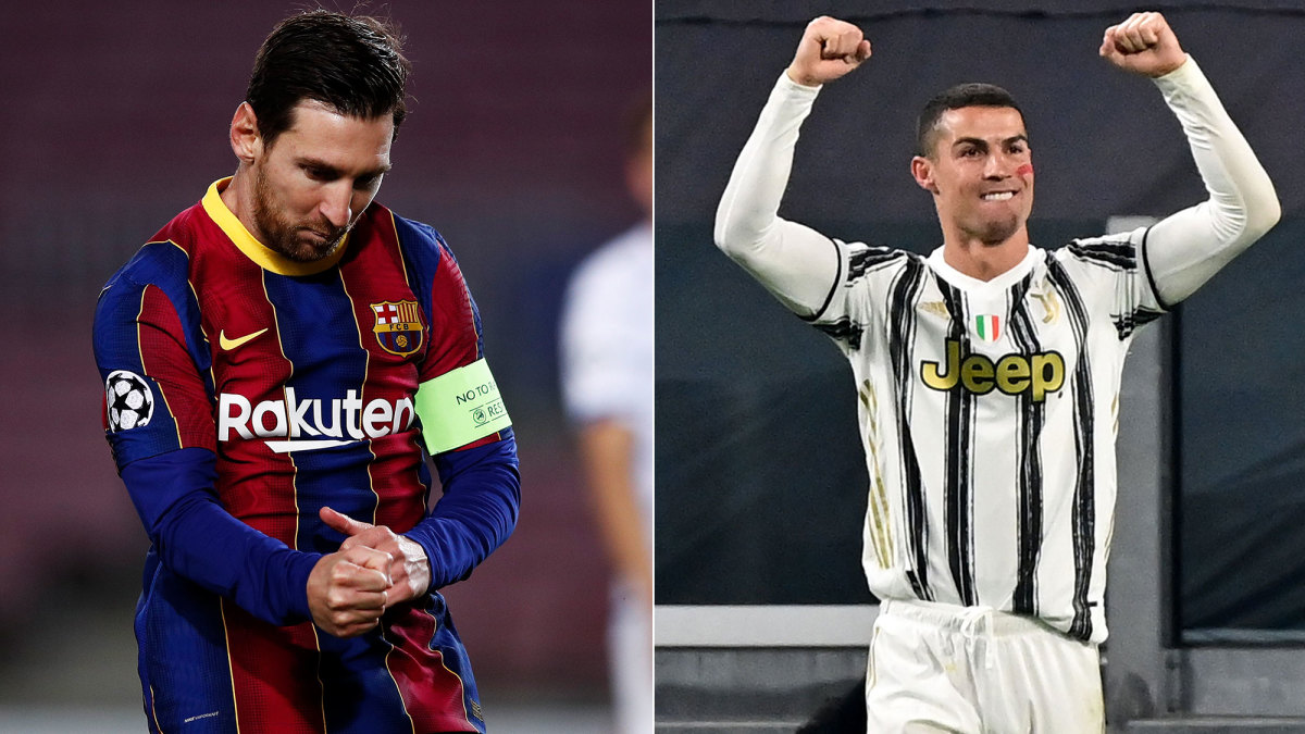 Lionel Messi and Cristiano Ronaldo face off in the Champions League
