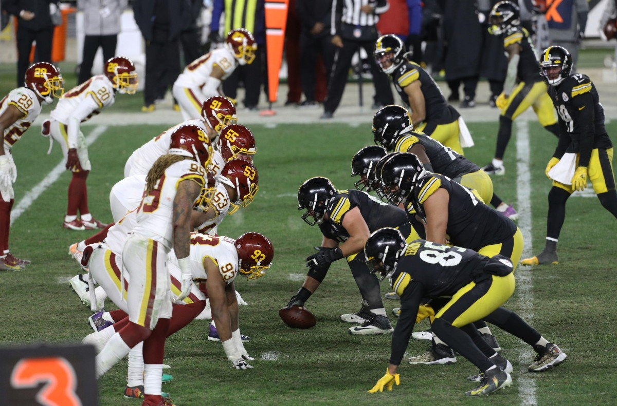 NFL Washington Football Team Charles LeClaire  2020 Dec 7