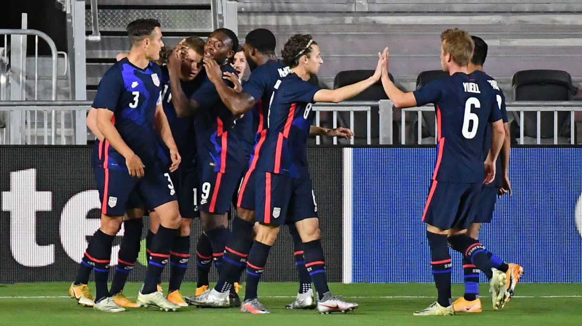 The USMNT routs El Salvador