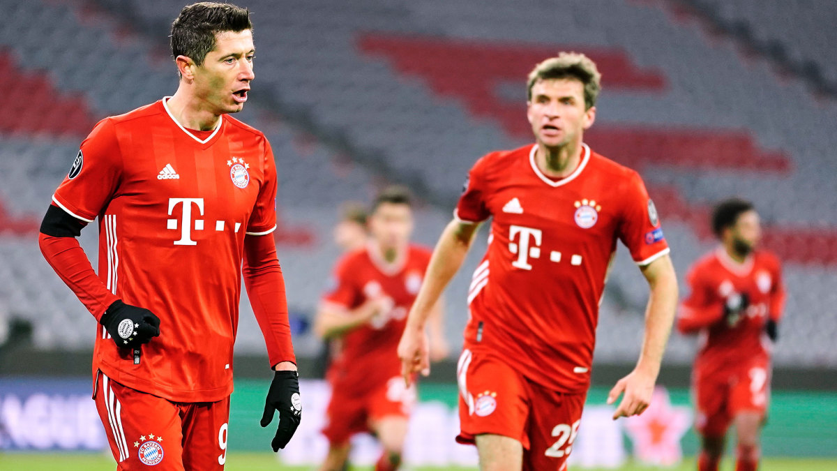 Bayern Munich coasted through the Champions League group stage