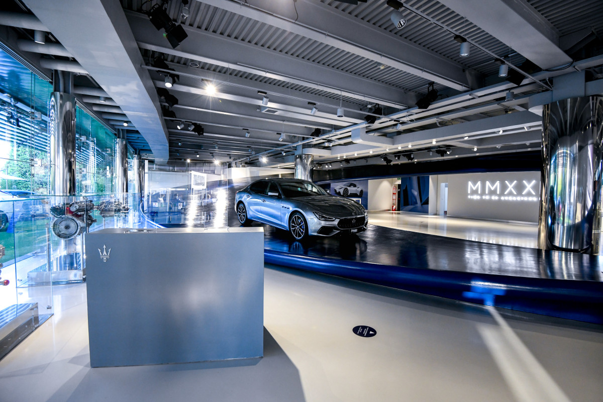Maserati Showroom at Modena