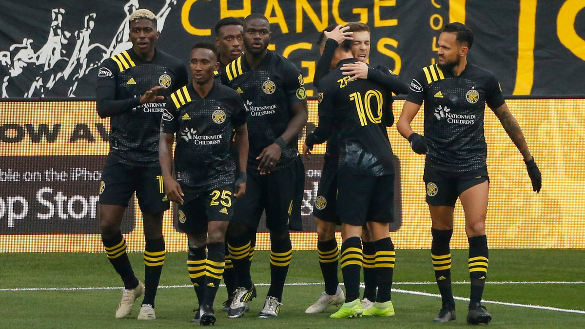 The Columbus Crew are in MLS Cup