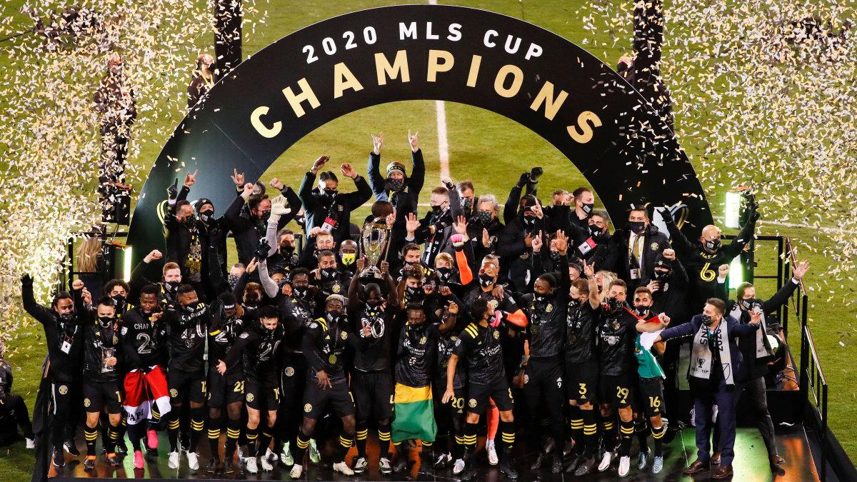 The Columbus Crew win 2020 MLS Cup