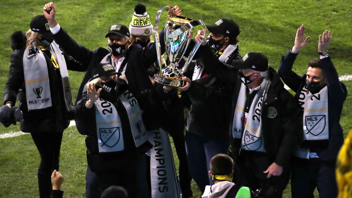 Columbus Crew ownership lifts MLS Cup
