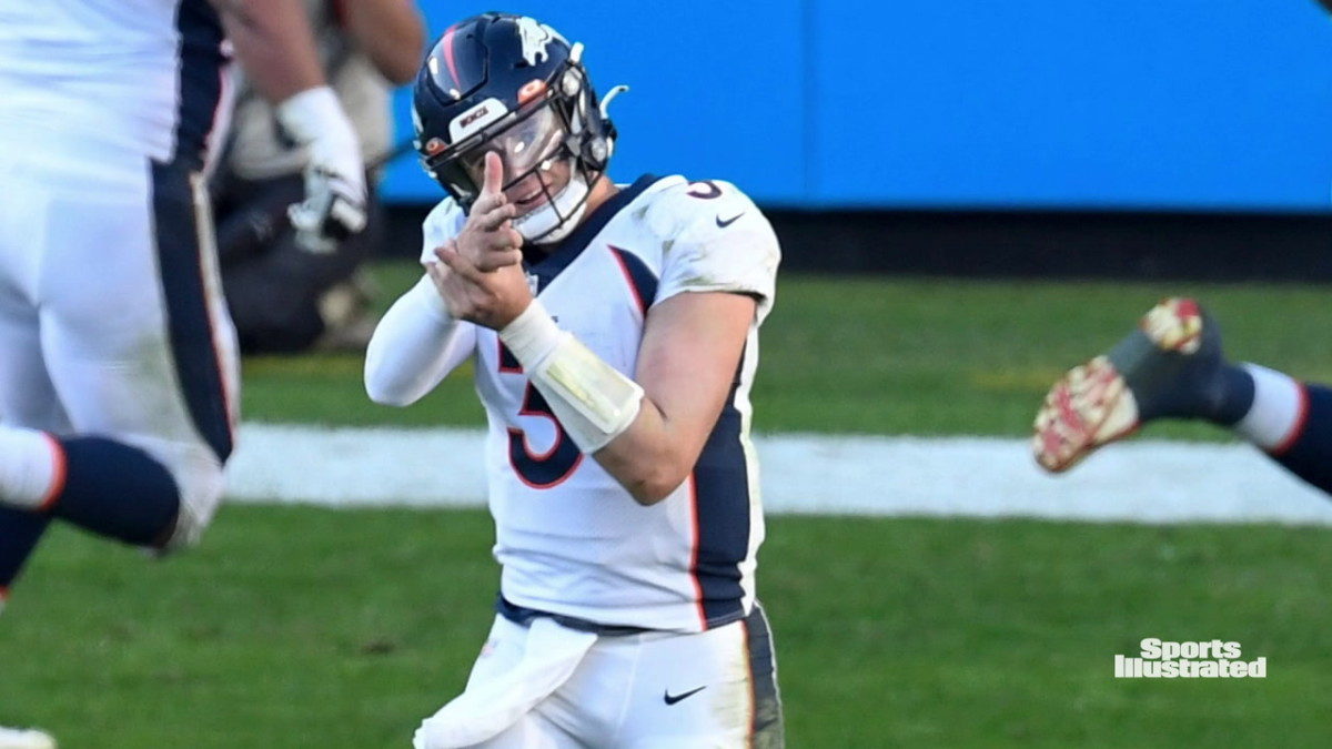 Denver Broncos' QB Drew Lock has Message for his Uber-Vocal Critics & Media Doubters - Sports Illustrated Mile High Huddle: Denver Broncos News, Analysis and More