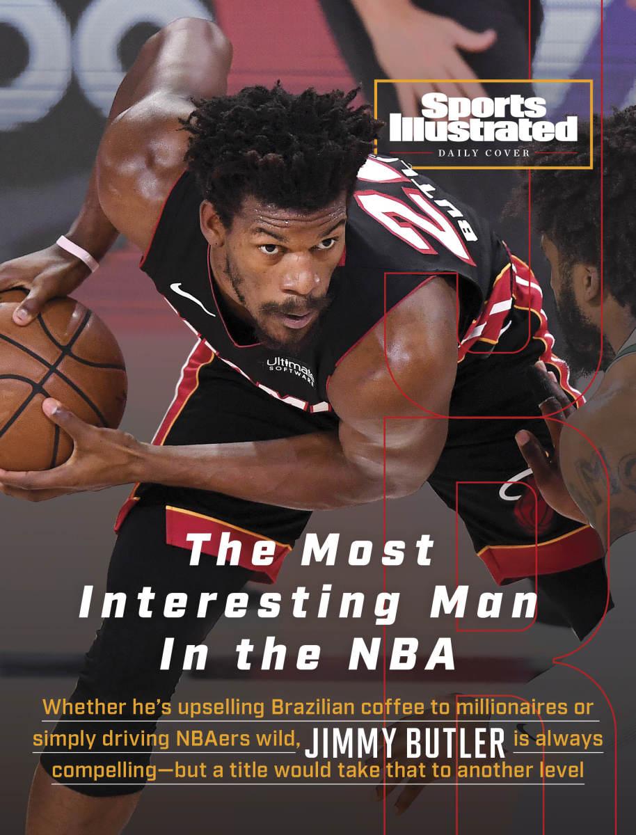 Miami Heat forward Jimmy Butler
