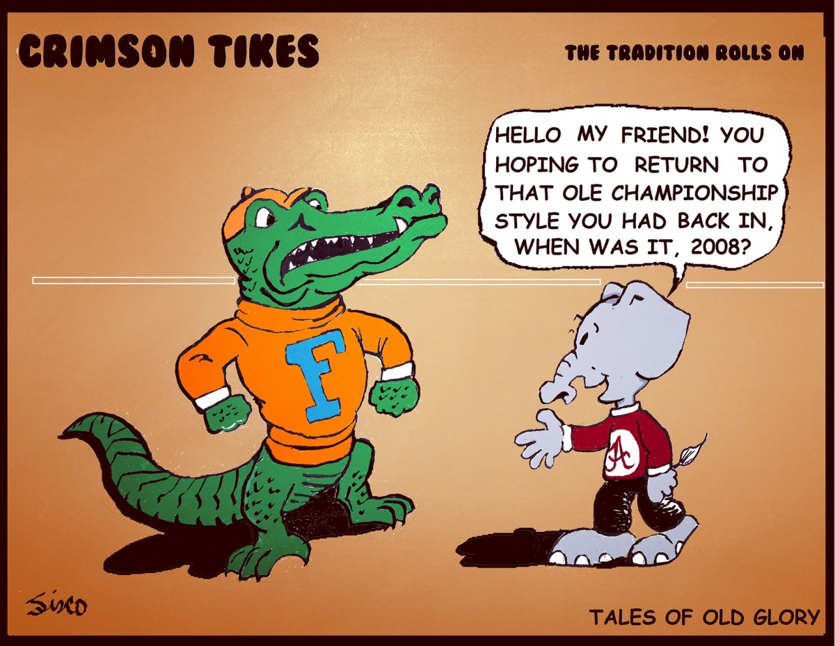 Crimson Tikes: Tales of Old Glory