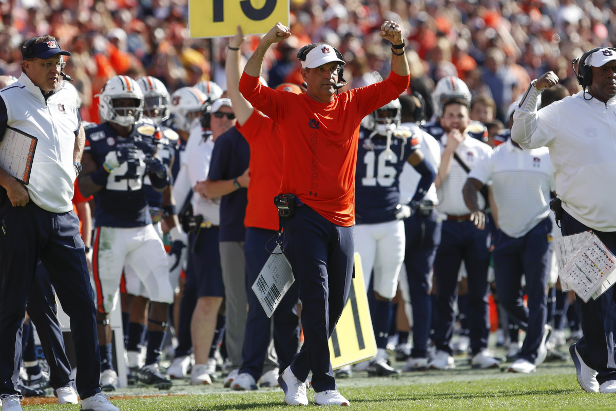 Auburn defensive coordinator and interim head coach Kevin Steele is a top candidate to replace Gus Malzahn