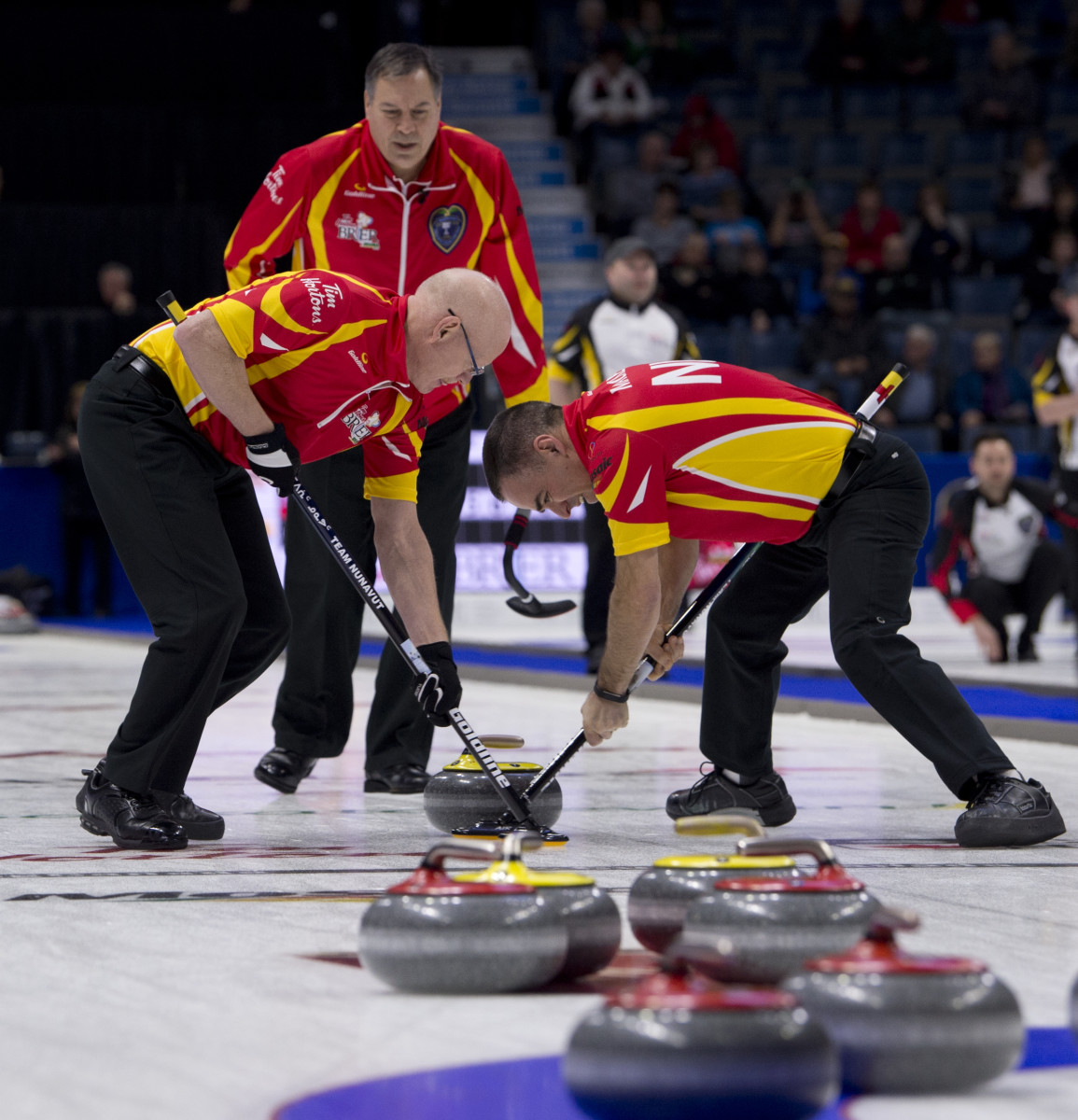 """The """"Joes"""" from Nunavut, 2018 • Michael Burns-Curling Canada"""