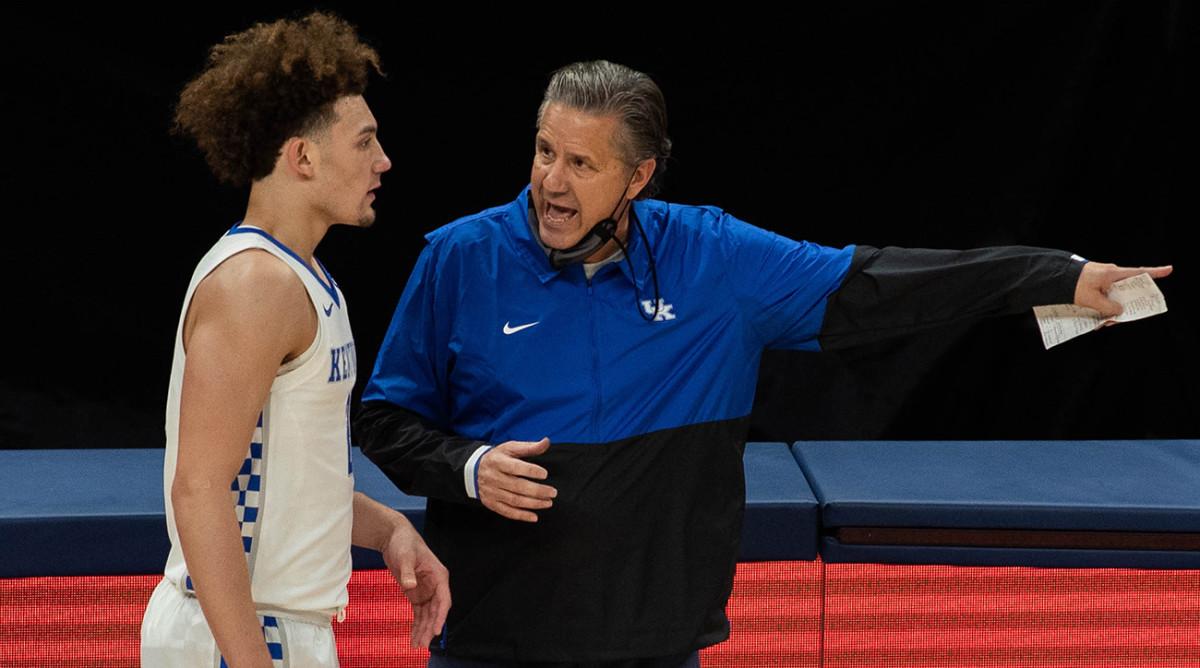 A poor 1-4 start is looking like John Calipari's biggest challenge yet at Kentucky.