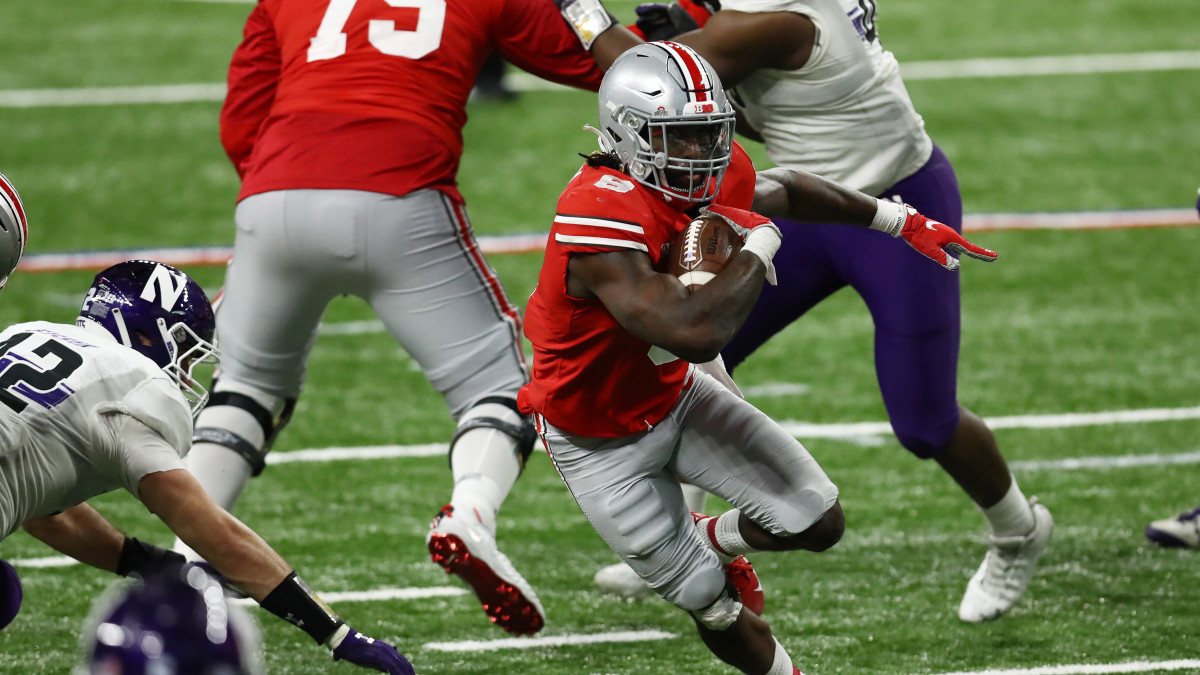 Ohio State wins Big Ten title behind Trey Sermon's record day - Sports  Illustrated