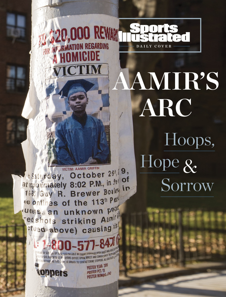 A stray bullet took the life of 14-year-old basketball devotee Aamir Griffin, leaving behind unfulfilled dreams and the agony of a grieving community.