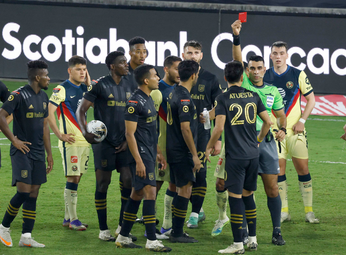 LAFC and Club America in the CCL semifinals