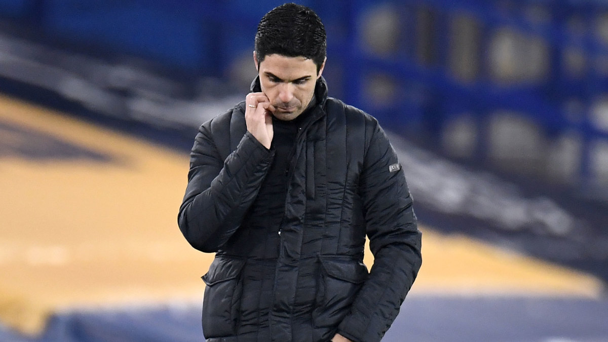 Mikel Arteta and Arsenal are struggling