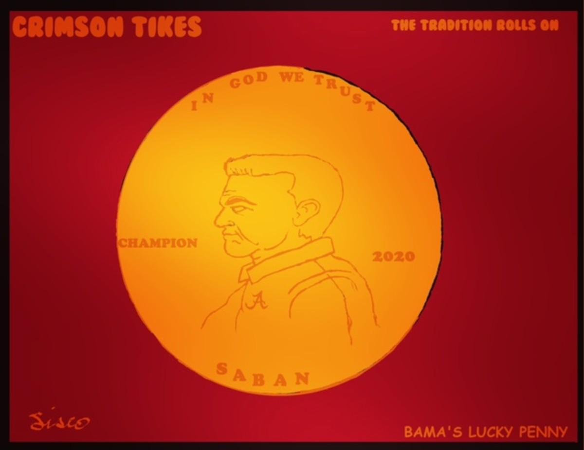 Crimson Tikes: Bama's Lucky Penny