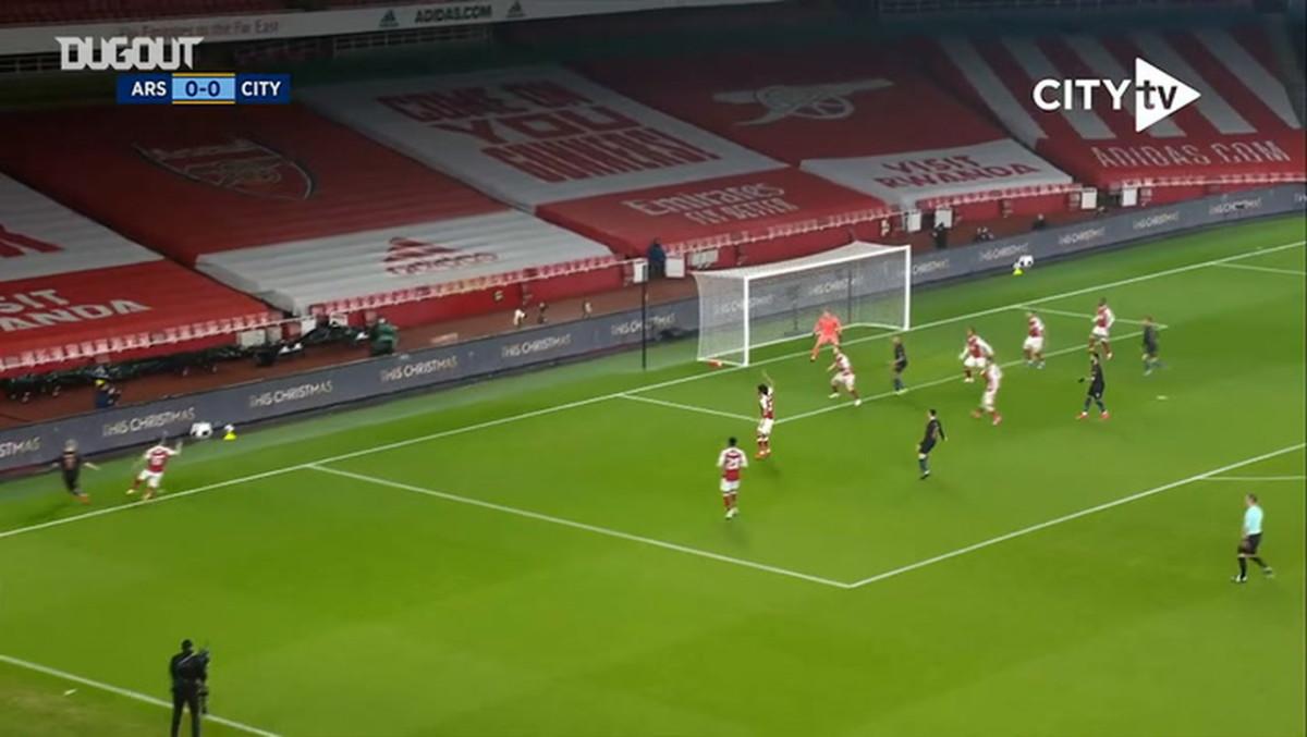 Mahrez shines in City's 4-1 win over Arsenal - Soccer ...