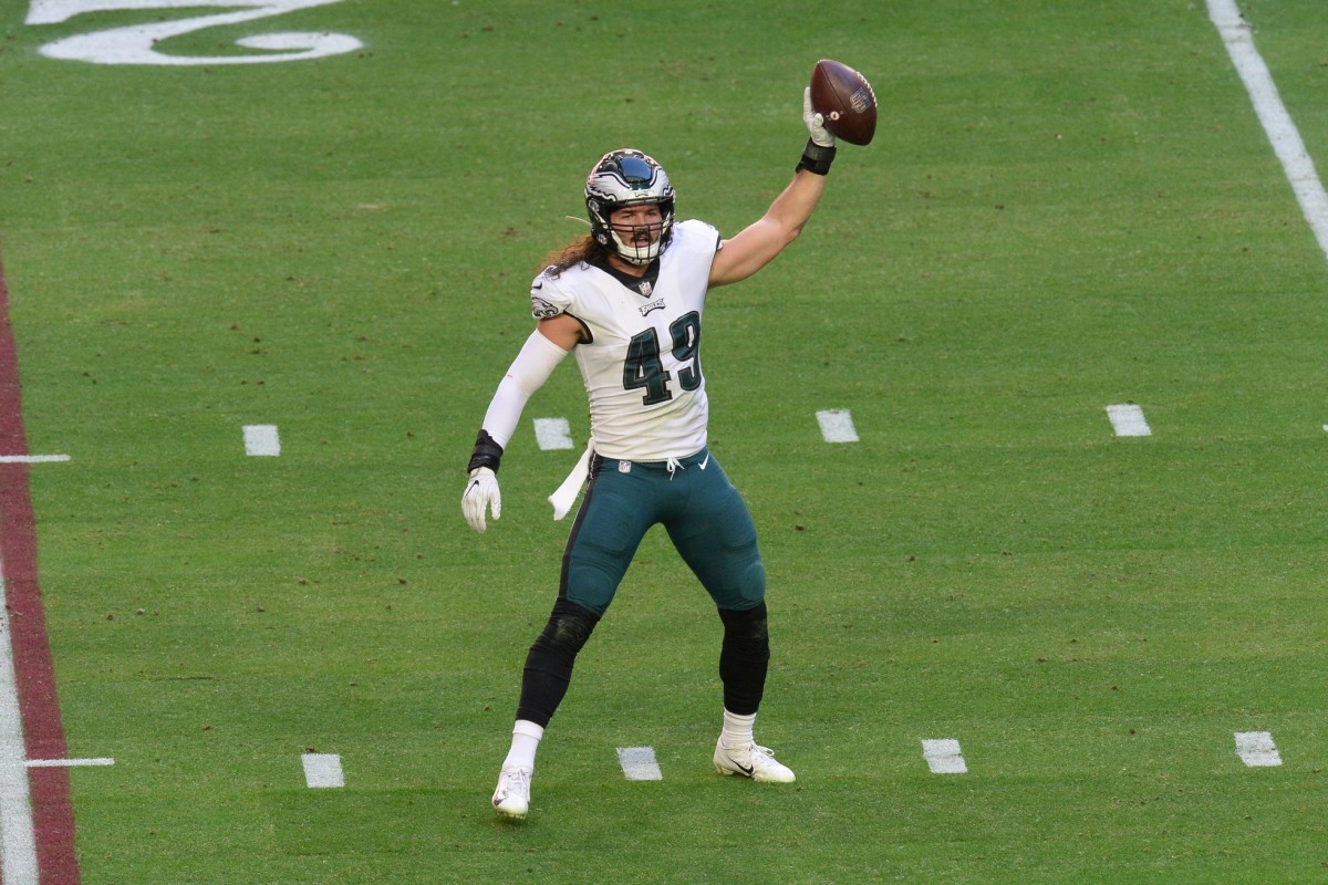 Alex Singleton has been a tackling machine sine becoming a starter at LB for the Eagles