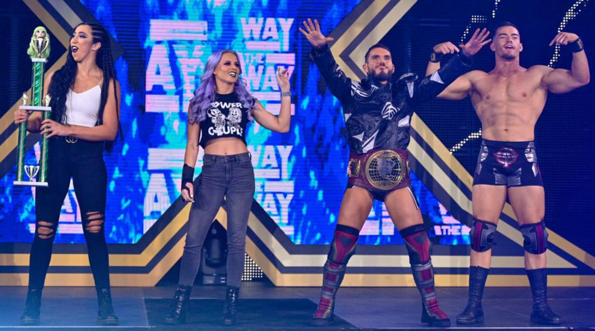 "Candice LeRae and Johnny Gargano hosting ""A Very Gargano Christmas"" for NXT."