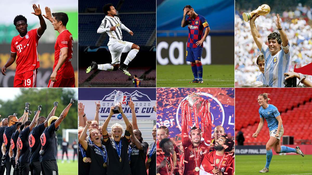 The top stories from world soccer in 2020