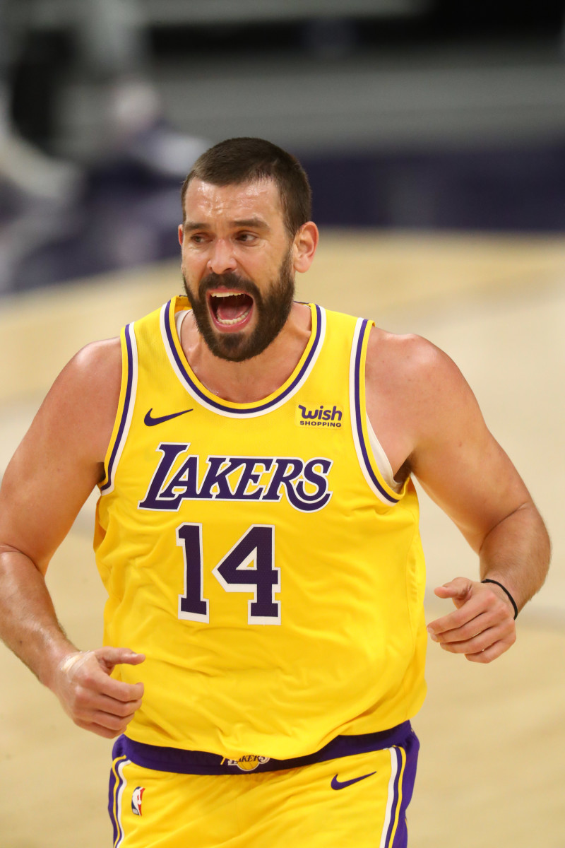 Marc Gasol still finding his way with Lakers - Sports Illustrated ...