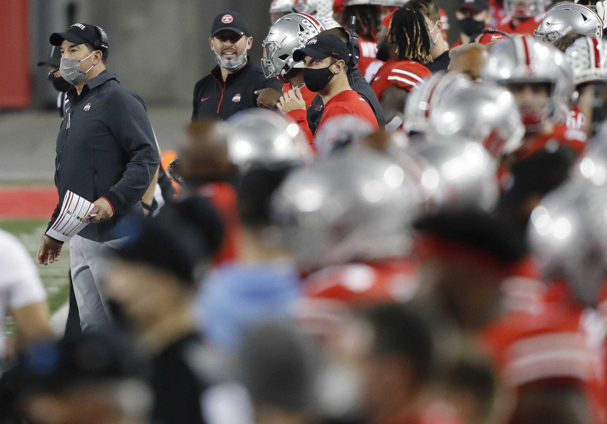 How serious is the college football money? At Ohio State, four of Ryan Day's assistants earn over $1 million each.