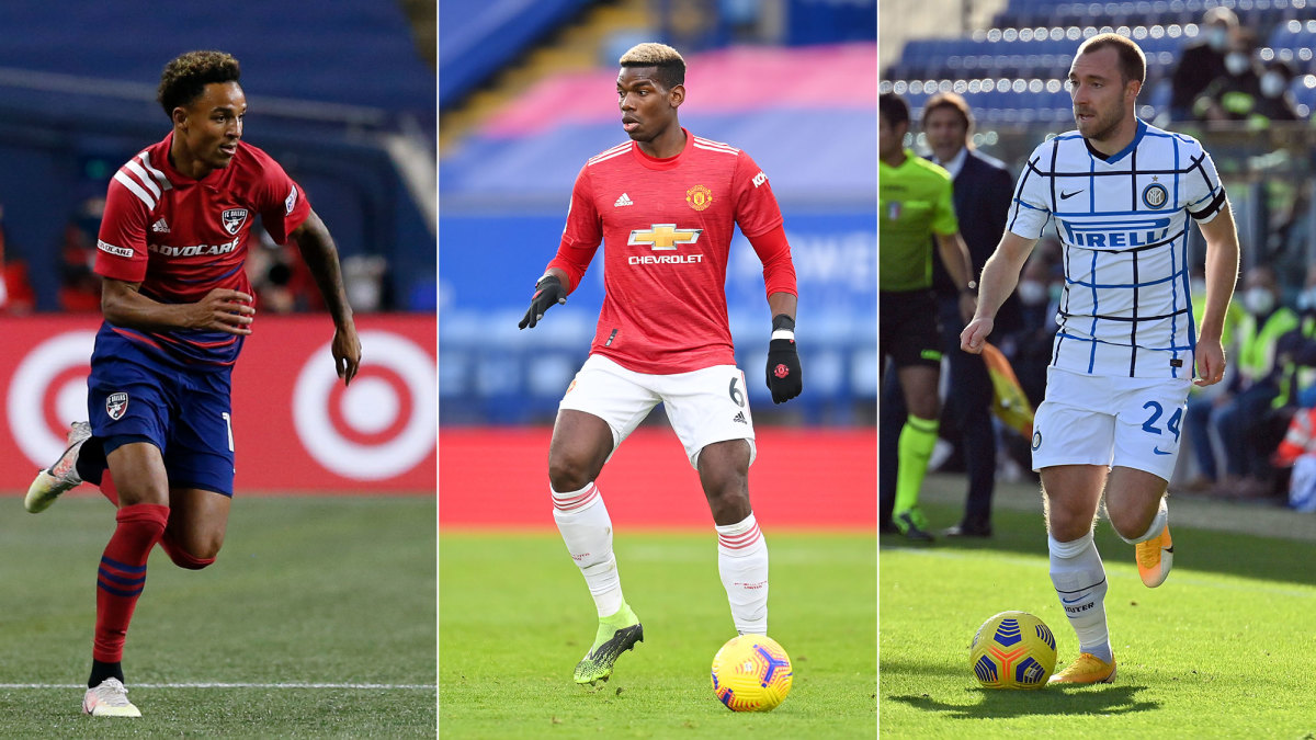 Bryan Reynolds, Paul Pogba and Christen Eriksen could be on the move this winter