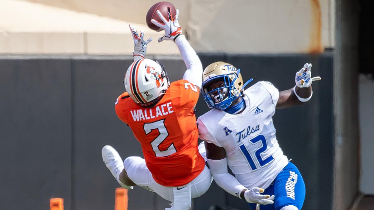 Oklahoma State Cowboys Tylan Wallace