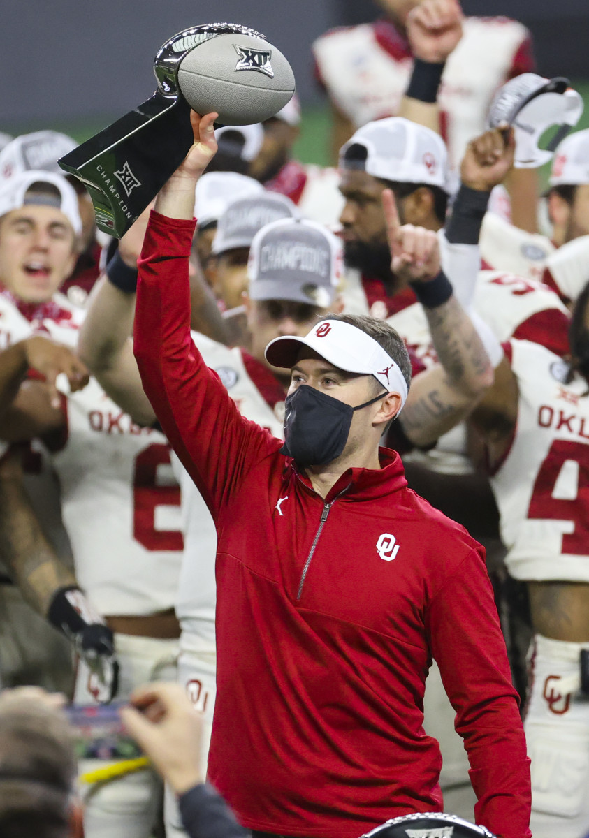 Lincoln Riley's offenses have helped power the Sooners to six straight Big 12 Championships and four College Football Playoff berths