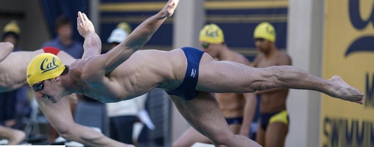 Cal swimmer Ryan Hoffer